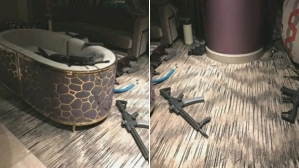 Vegas sniper's room
